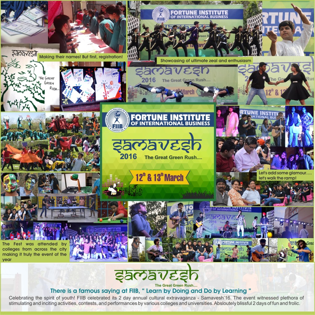 FIIB Samavesh collage 2016